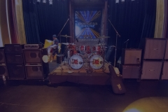 One of Our Backline Set up