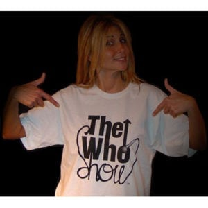The Who Show - The Who Tribute Band - Female White Tee