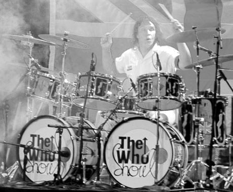 France DICARLO as Keith Moon in The Who Show