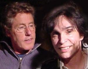 Roger Daltrey and France DiCarlo