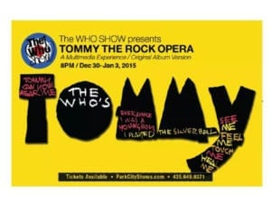 The Who Show Presents Tommy The Rock Opera
