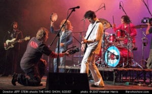 The Who Show Video Shoot with Jeff Stein