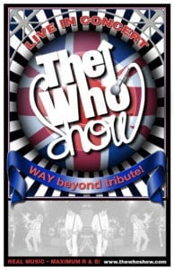 The Who Show Poster 2008